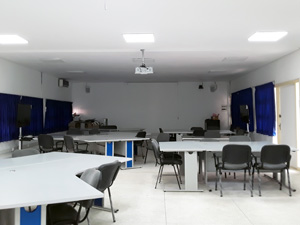 Salle collaborative ENSMR, Rabat