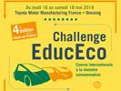 Challenge EducEco du 16 au 18 mai 2019 sur le site TOYOTA à Onnaing