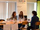 Job-Dating > Le 9 mai, l'ENSIAME organisait un job-dating entre futurs apprentis et entreprises