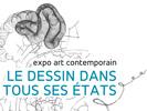 """Exposition """"le dessin dans tous ses états"""" au Centre d'Arts Ronzier du 15 janvier au 2 février 2019"""