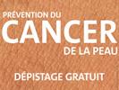 Dépistage gratuit du cancer de la peau > Jeudi 23 Mai de 9h30 à 12h30 et de 13h30 à 16h30 > Campus Mont Houy - Maison des Services à l'Etudiant (MSE) - Centre de Santé