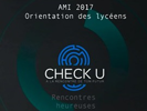 Check-U : un Serious-Game pour l'orientation