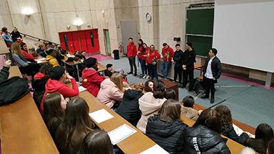 """8 ème édition des Cordées de la Réussite de l'Université """"Collégien Lycéen Aujourd'hui / Etudiant Demain"""""""