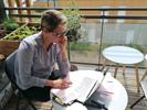 Ma vie en confinement > Morgane Cavalier, étudiante en Génie civil, nous raconte son quotidien
