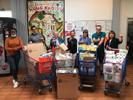 Solidarité : dons aux étudiants de la Résidence Mousseron