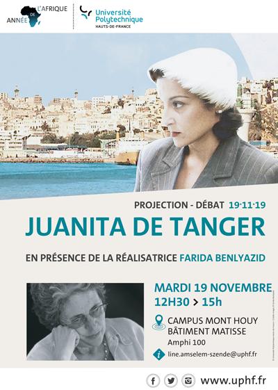 [PROJECTION-DEBAT] Rencontre avec la réalisatrice Farida Benlyazid - Mardi 19 novembre à 12h30 | Campus Mont Houy - Bâtiment Matisse / FLLASH - Amphithéâtre 100