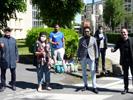 Des masques pour nos étudiants en résidence - Merci à la Mairie d'Aulnoy-lez-Valenciennes !