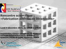 [GIS TechCera] Rencontre scientifique interne > Lundi 9 décembre 2019, de 13h30 à 17h30, en amphithéâtre du campus universitaire de Maubeuge