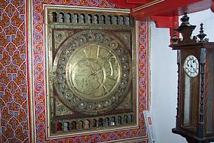 L'horloge Qarawiyyin - ou horloge astrolabique de la Gurayfa- à Fès