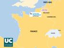 Carte Europe projet EUNICE - L'UPHF intègre le club très fermé des Universités Européennes - L'Université Polytechnique Hauts-de-France, lauréate et sélectionnée avec le projet EUNICE
