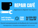 [Economie circulaire] Apprenez à réparer vos objets ! Repair'Café le 5 décembre, campus du Mont Houy