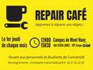 [Economie circulaire] Apprenez à réparer vos objets ! Atelier Repair'Café le 6 février, campus du Mont Houy