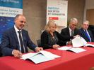 Signature de convention entre l'Université Polytechnique Hauts-de-France UPHF (IAE/ISH) et la Banque de France.