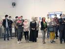 Vernissage des toiles réalisées durant le confinement à la Résidence Universitaire
