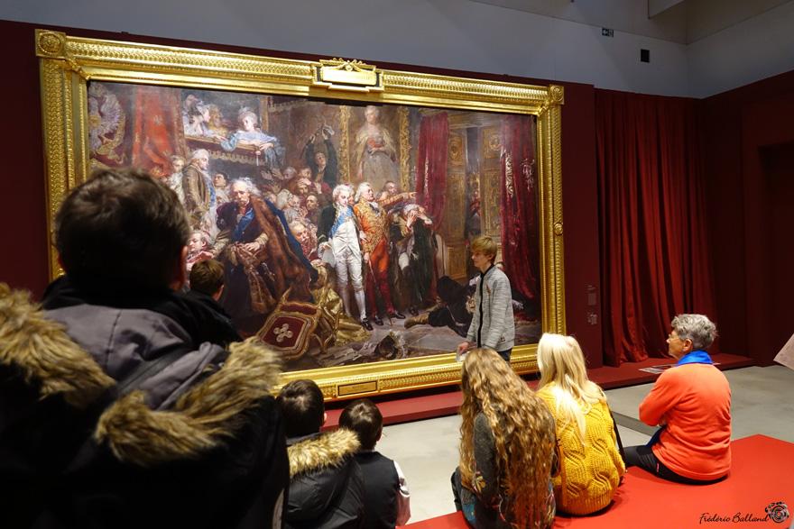 Les étudiants de la licence HARPE au Louvre-Lens les 30 nov. et 1er déc. 2019