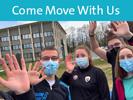 Come Move With Us : Une application permettant de proposer des activités physiques adaptées > « Come Move With Us » est un beau et ambitieux projet réalisé par 40 étudiants en Licence 3 APAS* (Activités Physiques Adaptées à la Santé).