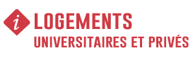 LOGEMENTS UNIVERSITAIRES ET PRIVES - INFORMATION